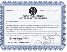 personal trainer business license
