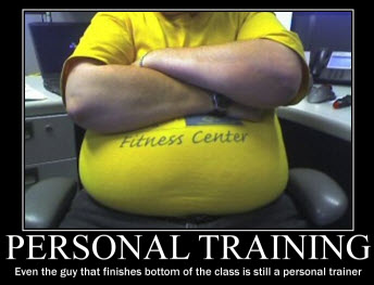 personal training degrees