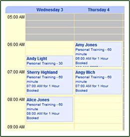 client scheduling software