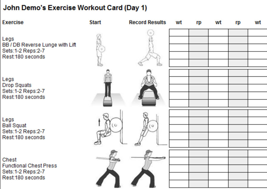 workout software