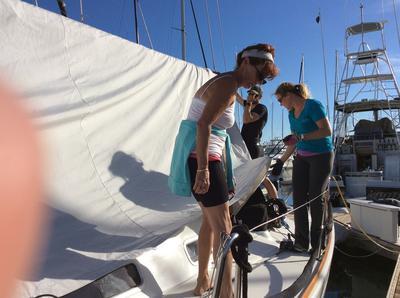 Preparing for a sailing championship